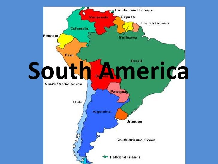 Spanish Speaking Countries Of The World: Spanish Speaking Countries In South America Map At Codeve.org