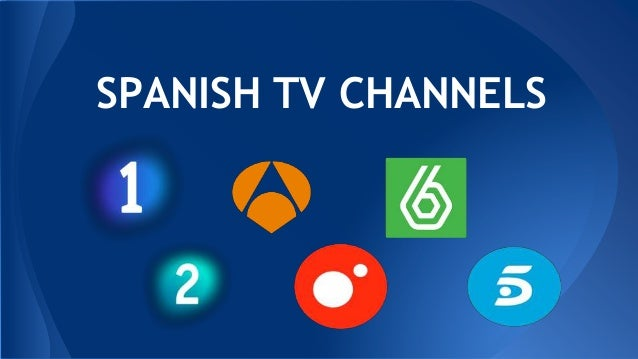 Spanish tv channels