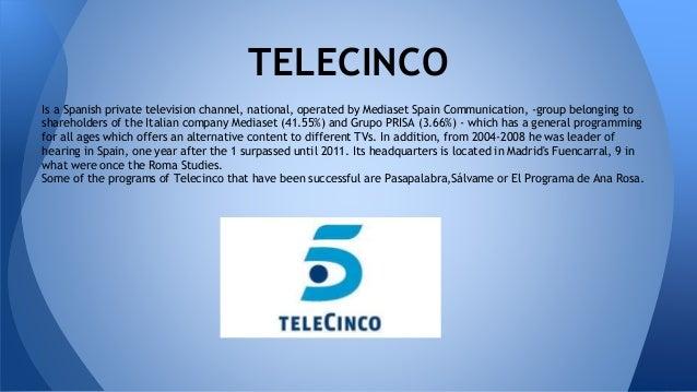 Spanish tv channels