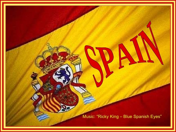 "SPAIN Music: ""Ricky King – Blue Spanish Eyes"""