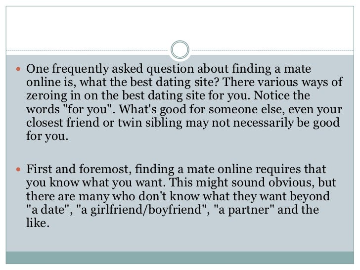 Mate2 dating site