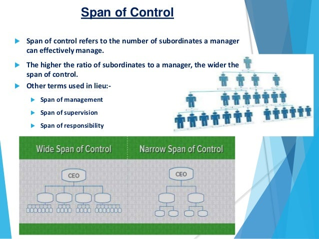 Span of control chain of command span of control publicscrutiny Image collections
