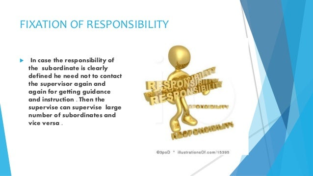 span of management Span of management is the number of subordinates to report directly to each manager the term span of management is often referred to as span of control.