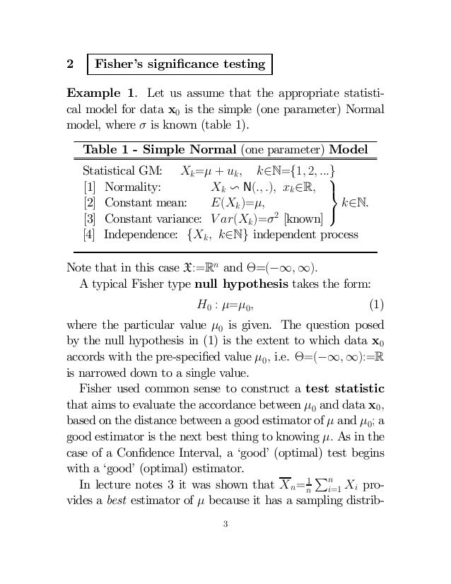 a note on hypothesis testing One year ago a friend asked me to put down some easy-to-read notes on hypothesis testing being a student of osteopathy, he is unfamiliar with basic expressions like \random variables or.
