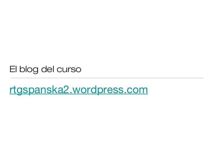El blog del cursortgspanska2.wordpress.com