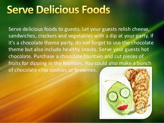 8 Serve Delicious Foods