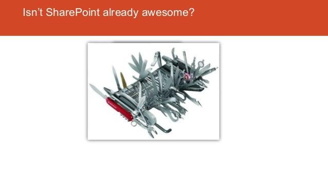 SharePoint 2010 Foundation Isn't SharePoint already awesome?