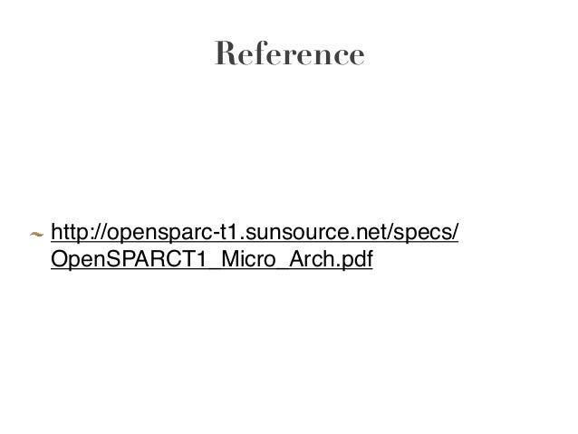 sparc instruction set reference