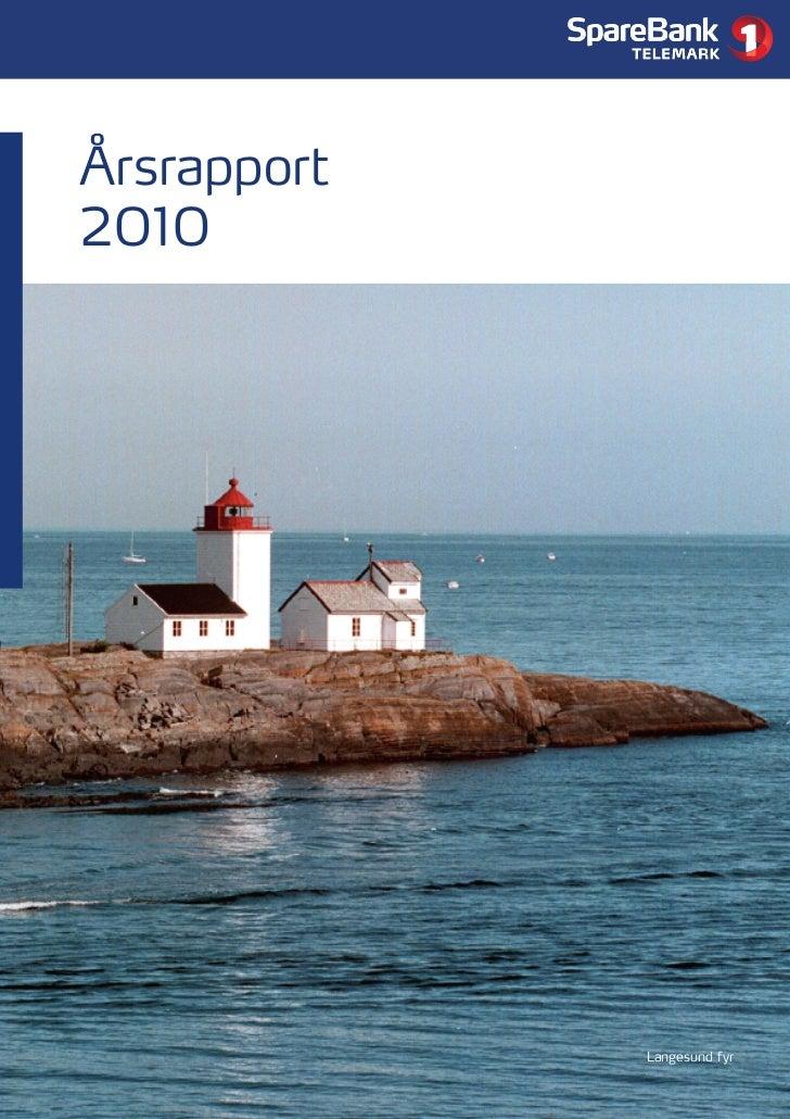 Årsrapport2010             Langesund fyr