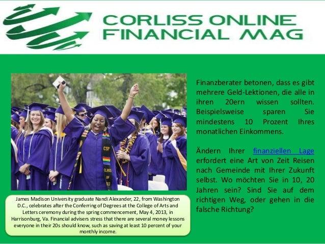 Financial Tips Corliss Group Online Magazine Slide 2