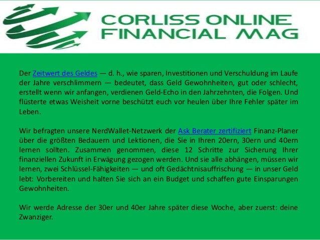 Financial Tips Corliss Group Online Magazine Slide 3