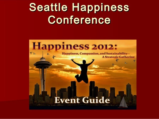Seattle Happiness Conference
