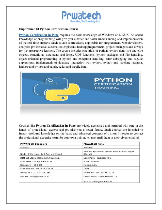 Python training in chennai | best python course institute in chennai.