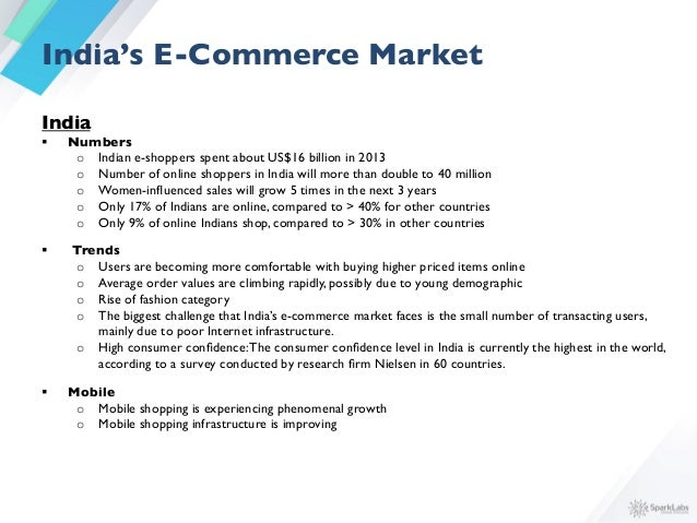 Sparklabs Global Asia E Commerce Report 2015
