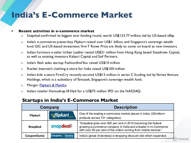Southeast Asia is a Fast Growing E-Commerce Market    § With 62 million people connected, Southeast Asia accounts for ...