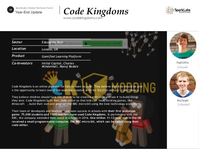 Code Kingdoms is an online platform for kids to learn to code. They believe that kids should be give n the opportunity to ...
