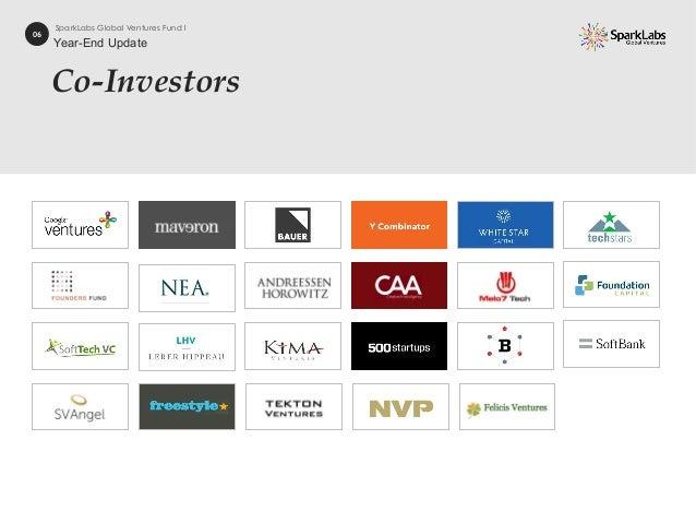 Co-Investors 06 SparkLabs Global Ventures Fund I Year-End Update