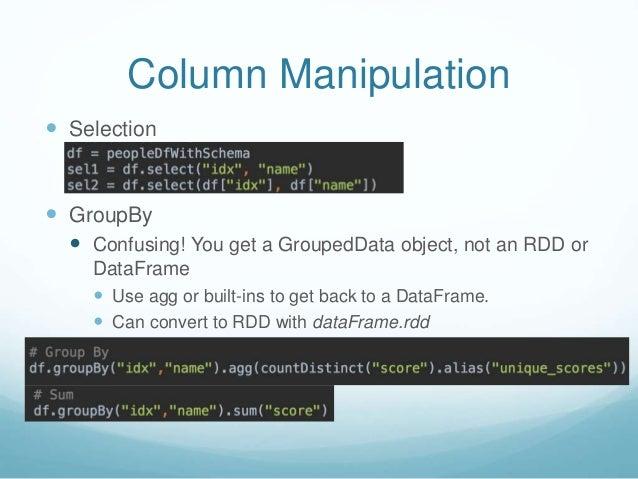 Pyspark dataframe iterate columns