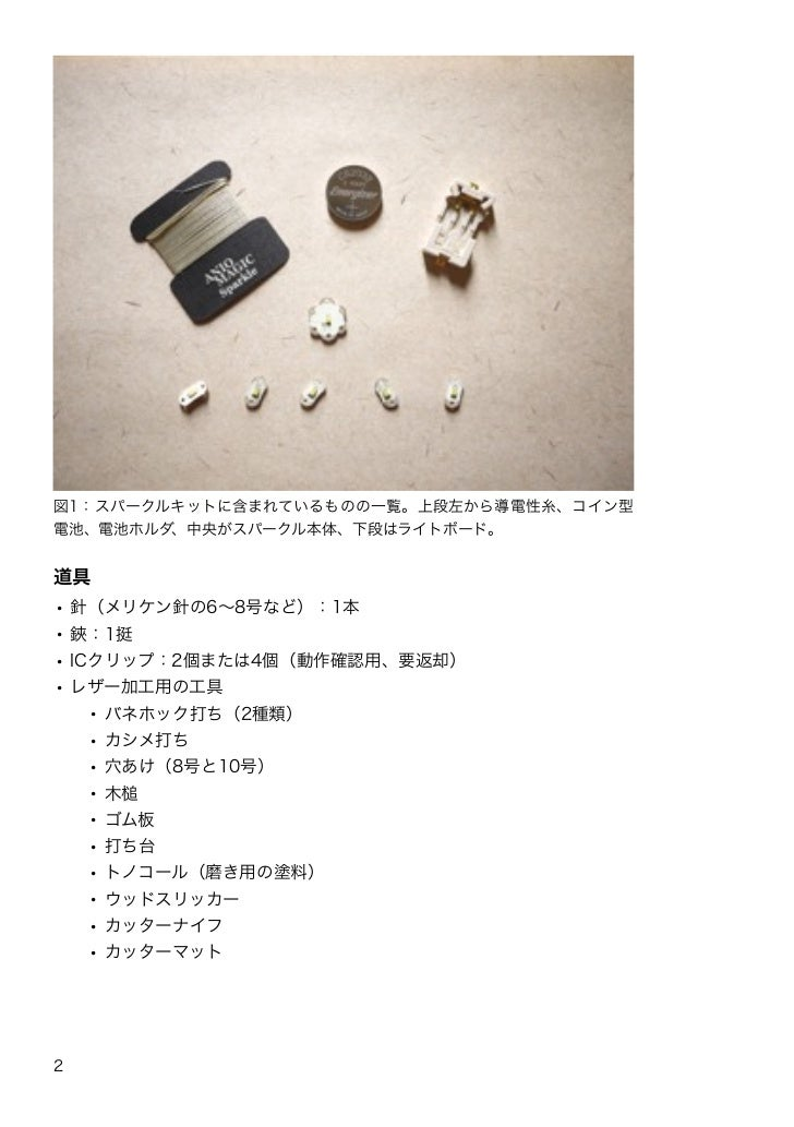 Sparkle Workshop at Make: Tokyo Meeting 07 Slide 3