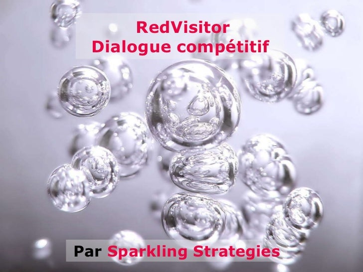 Par  Sparkling Strategies RedVisitor Dialogue compétitif