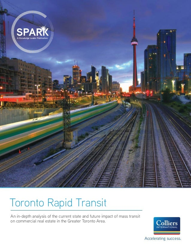 An in-depth analysis of the current state and future impact of mass transit on commercial real estate in the Greater Toron...
