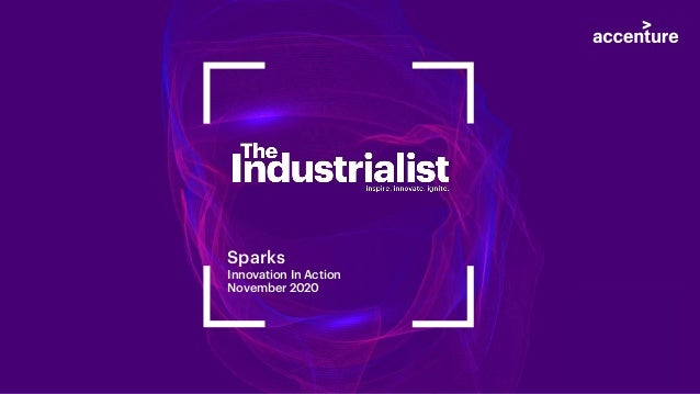 Sparks Innovation In Action November 2020