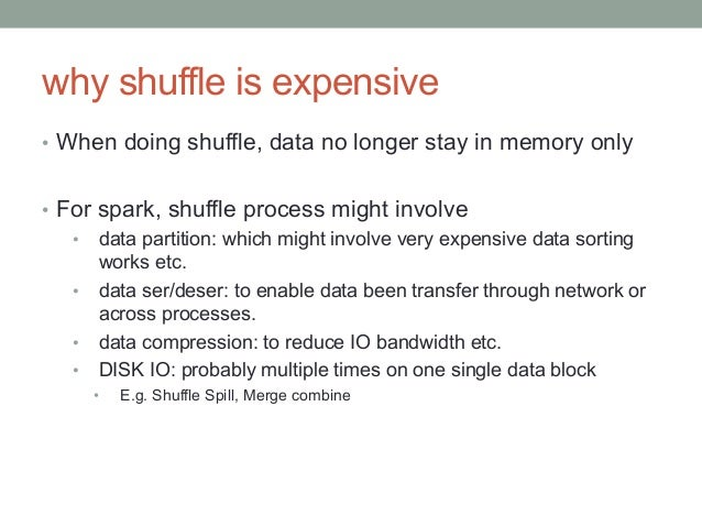 History • Spark 0.6-0.7, same code path with RDD's persistent method, can choose MEMORY_ONLY and DISK_ONLY (default). • ...