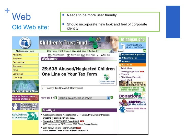 Advertising and Branding Campaign for The Children\'s Trust