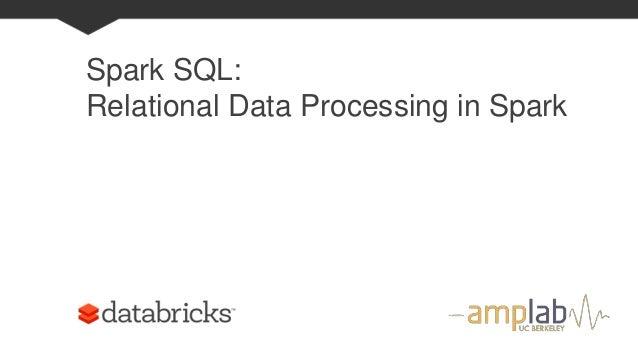 Spark Sql and DataFrame