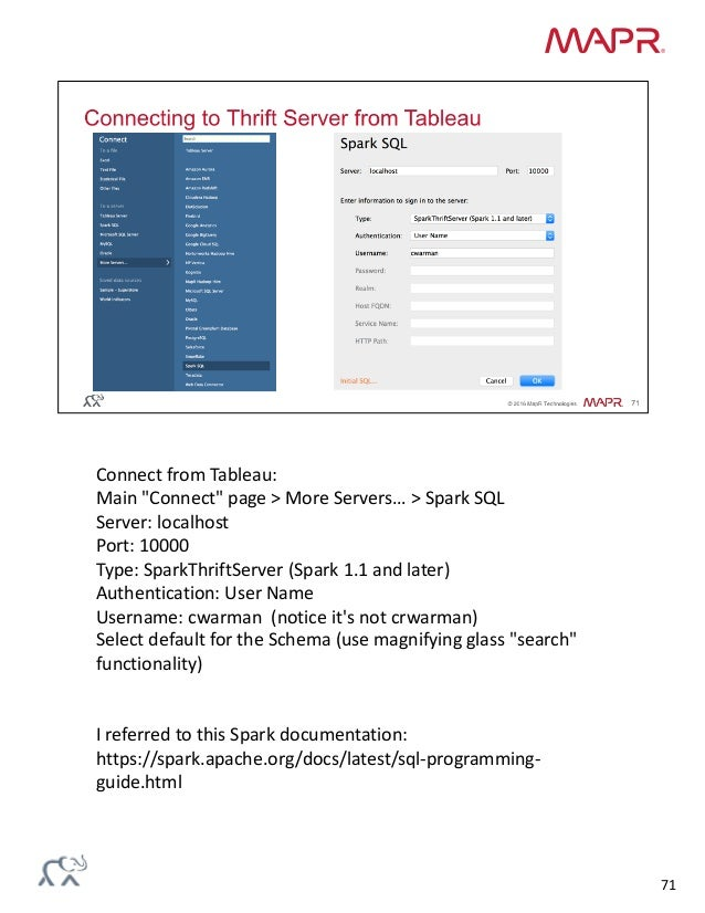 Spark SQL & Machine Learning - A Practical Demonstration