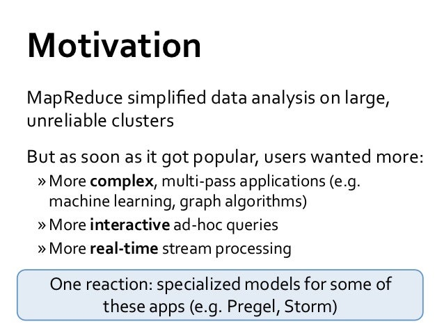 Making Big Data Analytics Interactive and Real-Time Slide 3