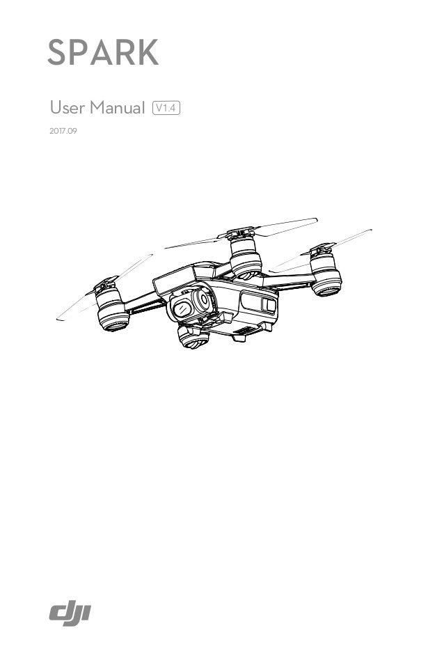 dji spark user manual v1.4