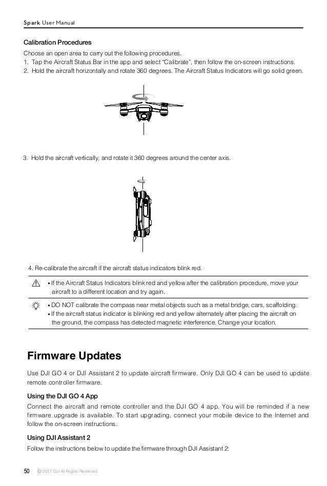 dji spark user manual v1 4