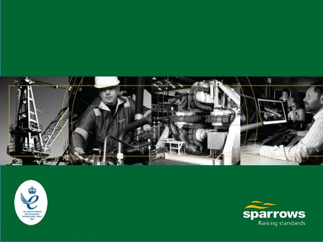 """""""Sparrows, leaders in mechanical, hydraulic & lifting services, encompassing; design, manufacture, construction, rental, o..."""