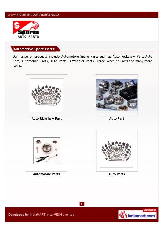 Sparta Auto Parts, Mumbai, Automobile Spare Parts