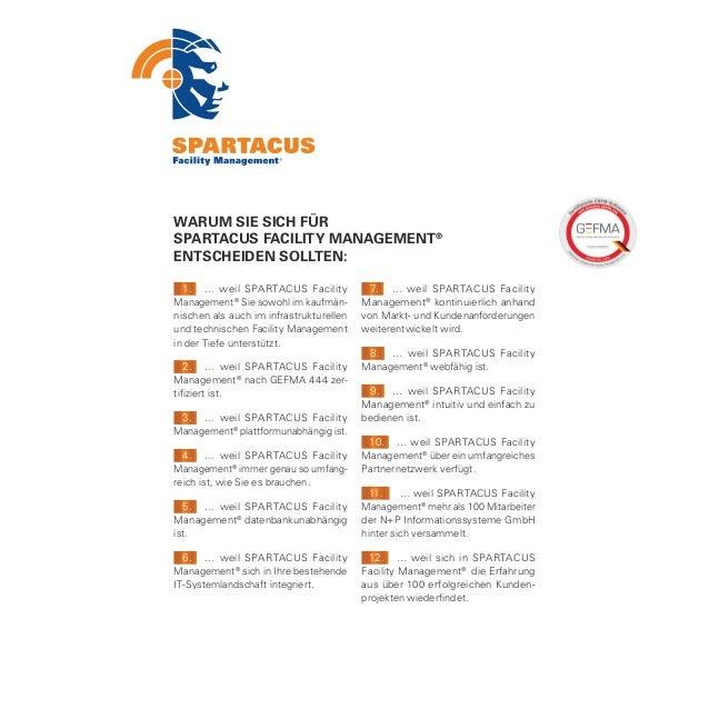 """DAS SAGEN KUNDEN:                                 """"SPARTACUS FacilityKreissparkasse Herzogtum Lauenburg:Management® leiste..."""