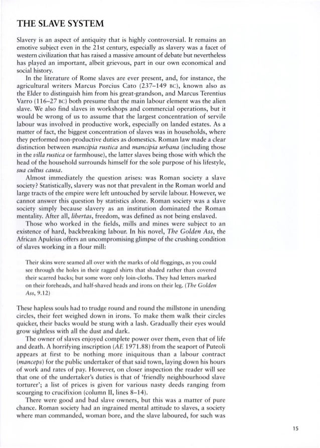 spartacus and the slave wars essay Strong essays: spartacus spartacus and the slave wars free essays - studymode lenin's decision to bring up the details of a successful slave revolt at a time.