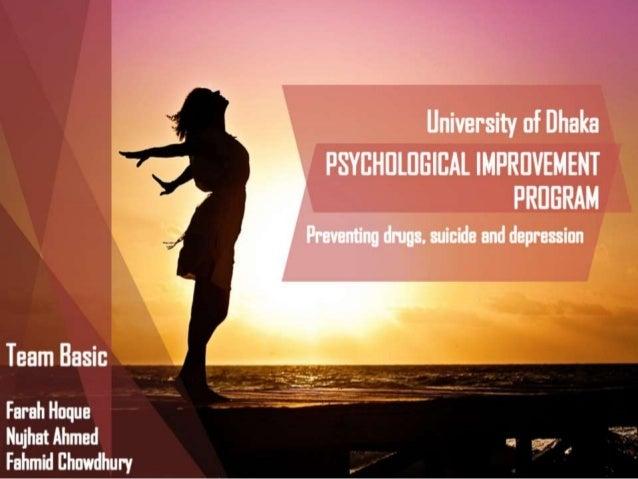 Psychological Improvement program