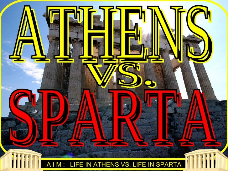 athens and sparta research paper