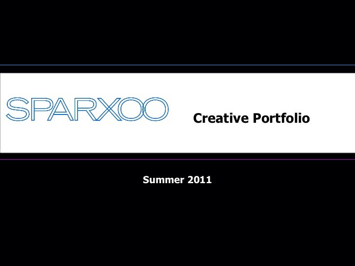 Branding Proposal to       Creative PortfolioSummer 2011