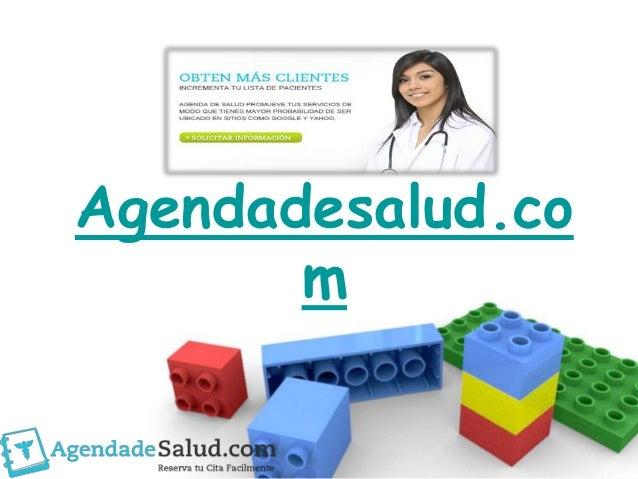 Agendadesalud.com