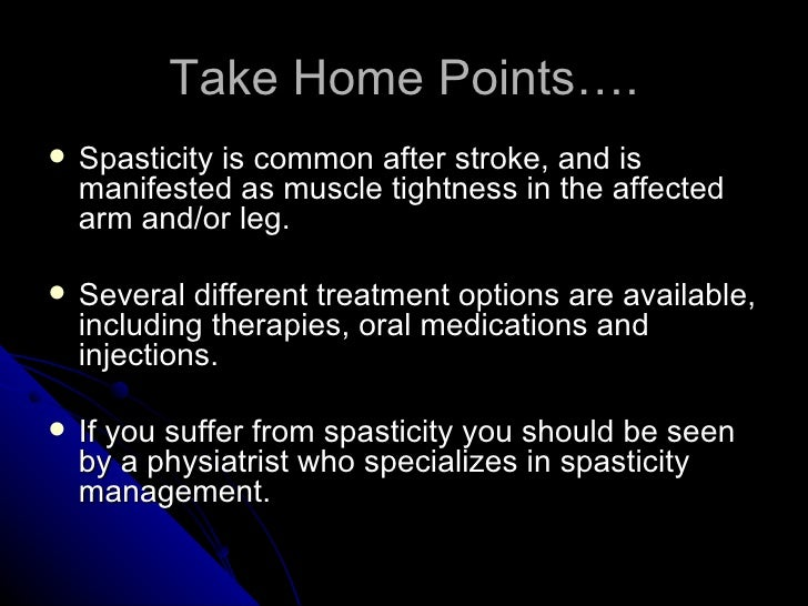 Nursereview Org Spasticity After Stroke