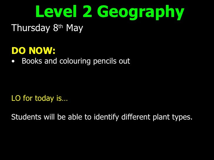 <ul><li>Thursday 8 th  May </li></ul><ul><li>DO NOW: </li></ul><ul><li>Books and colouring pencils out </li></ul><ul><li>L...