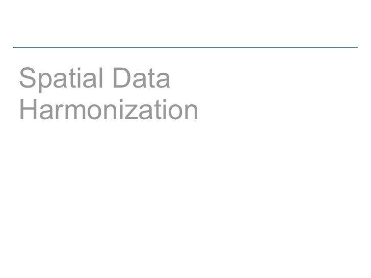 Spatial DataHarmonization