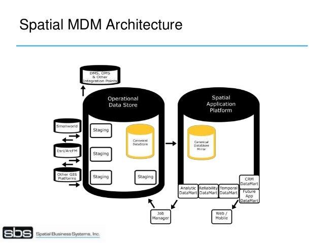 Spatial Master Data Management: Enterprise-level Spatial