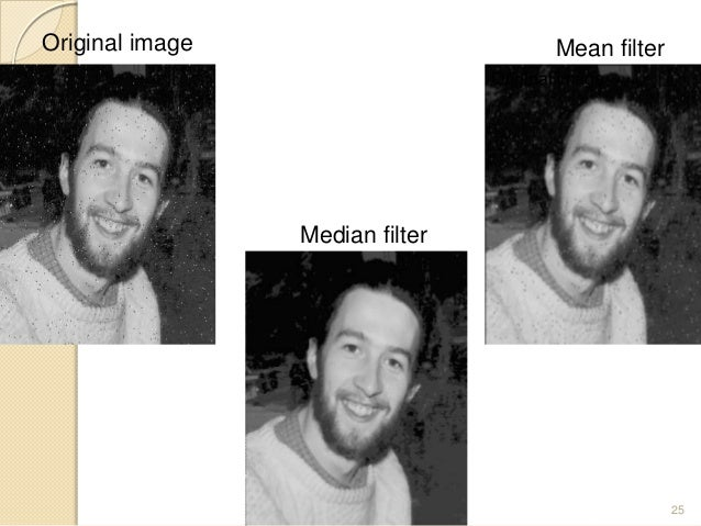 Smoothing Filters in Spatial Domain
