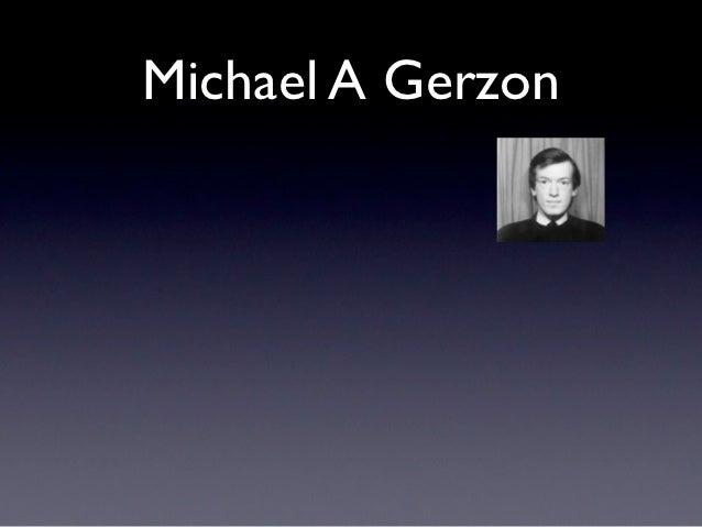 Michael A Gerzon