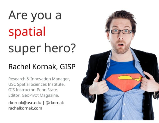 Are You a Spatial Super Hero?