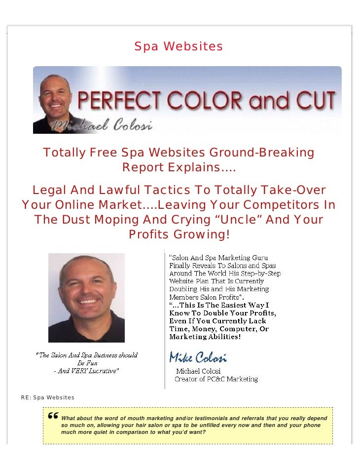 Spa Websites           Totally Free Spa Websites Ground-Breaking                    Report Explains….  Legal And Lawful Ta...