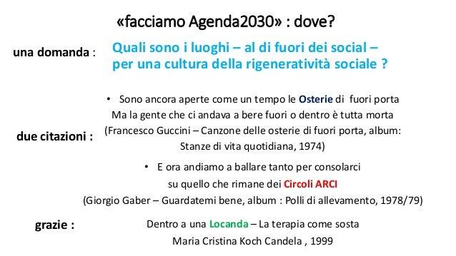Facciamo Agenda 2030 Dove